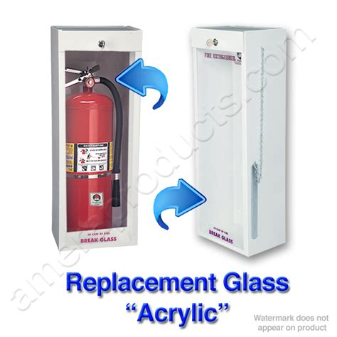 jl industries fire extinguisher cabinets jl industries 1123 replacement glass acrylic jli 1123