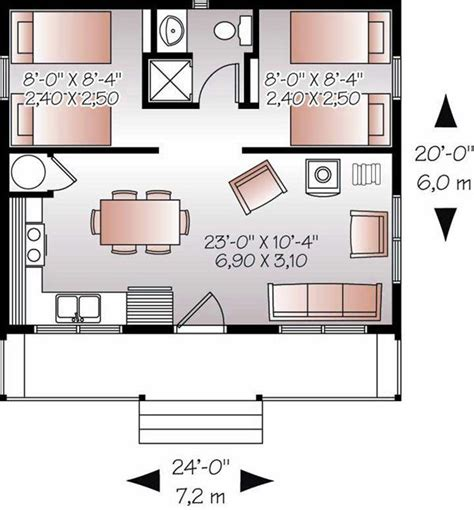 Small Vacation Home Floor Plans | small vacation home plans home design