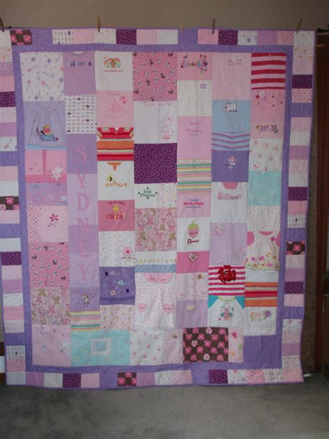 Quilts Made With Baby Clothes by Custom Orders For Quilts Made From Your Precious Baby Clothes