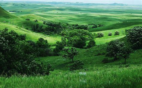 valley green landscaping grassland backgrounds wallpaper cave