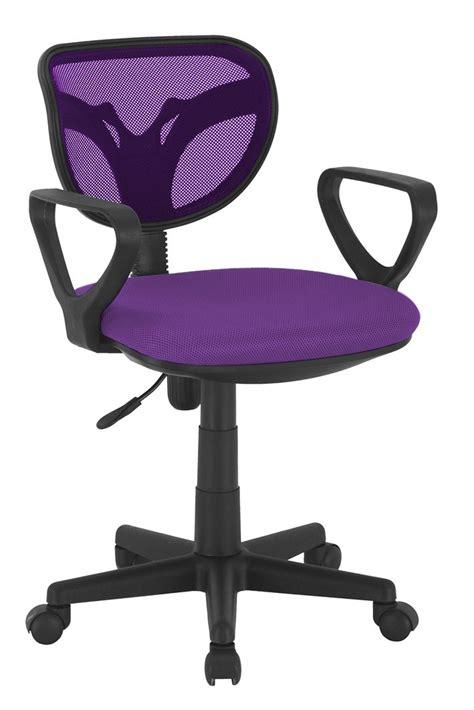 chaise bureau enfant chaise de bureau violet