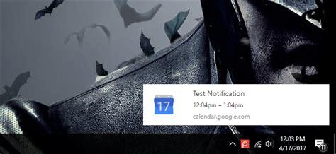 Calendar Desktop Notifications How To Enable Desktop Notifications For Calendar In