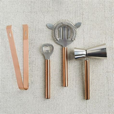 Copper Bar Accessories Copper Bar Tools By West Elm The Best Cocktail