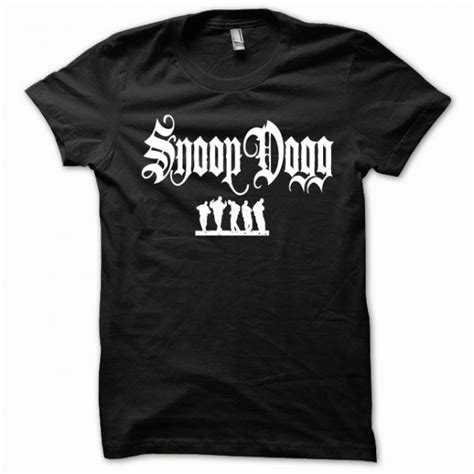Details About Snoop Dogg T Shirt t shirt snoop dogg white on black