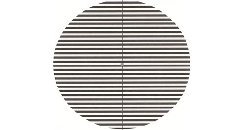 pattern glare lines optician