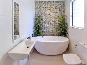 a small narrow space bathroom with free standing