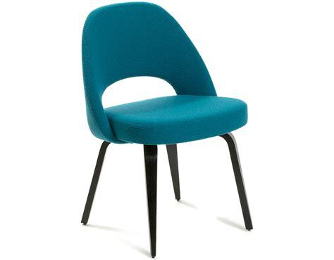 Saarinen Chair by Saarinen Executive Side Chair With Wood Legs Hivemodern