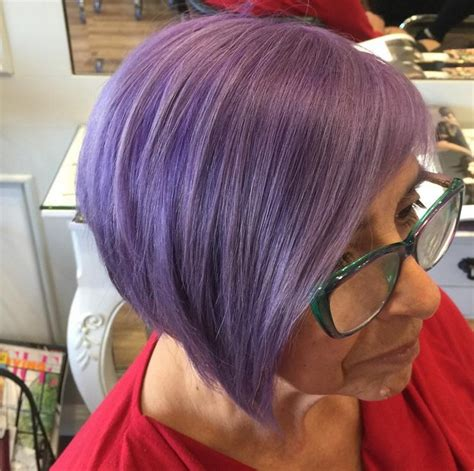 show soft lavender hair color for women 60 years ol 20 gorgeous pastel purple hairstyles for short long and