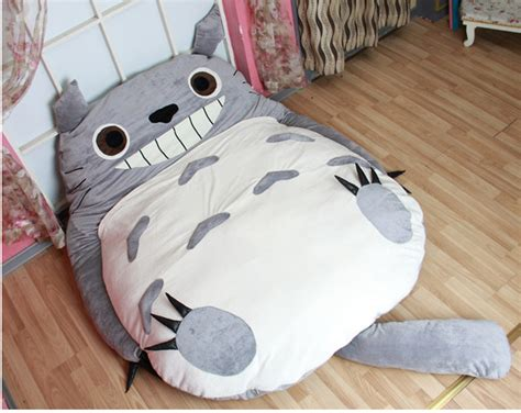 giant stuffed animal bed around the world a totoro bed