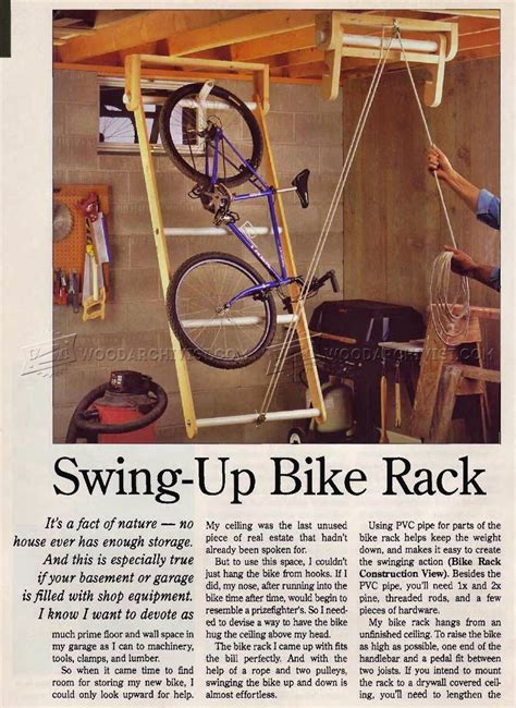 swing up swing up bike rack woodarchivist