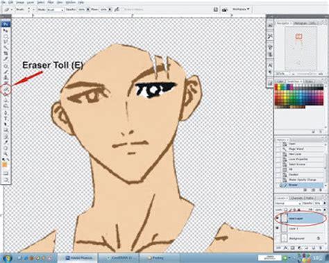 cara membuat alis dengan photoshop cs3 quot tunjukkan kreasimu quot cara mewarnai gambar anime komik