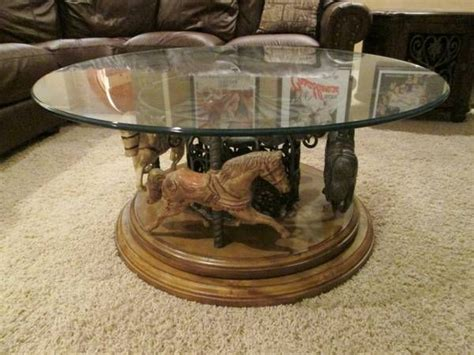 carousel coffee table lovely for the home