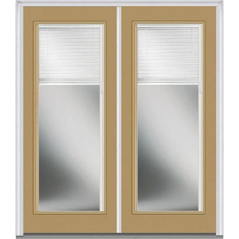Double Door Blinds Between The Glass Steel Doors Glass Doors Exterior