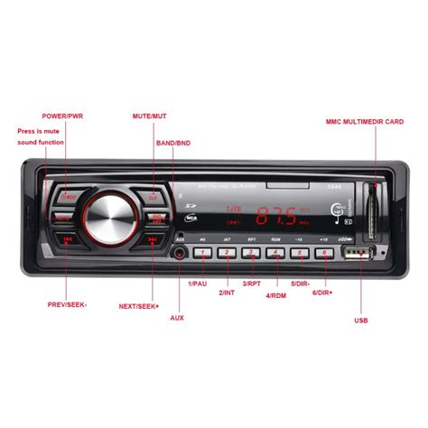Player Usb Mobil audio player mobil 12v 1din fm receiver aux usb sd slot