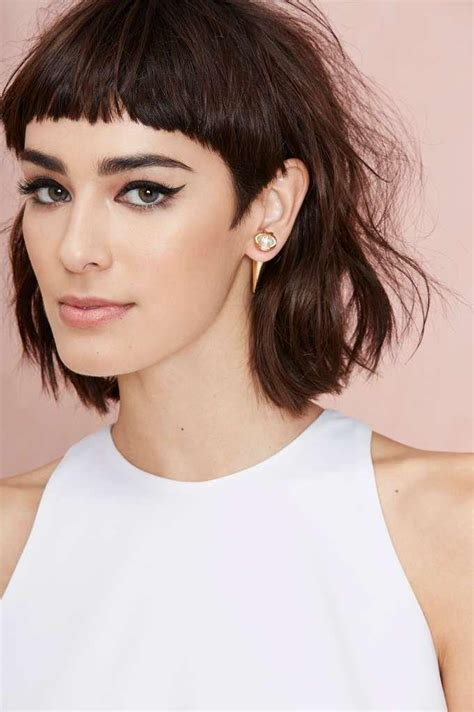 17 best ideas about short hairstyles with bangs on 2018 popular long hairstyles with short bangs