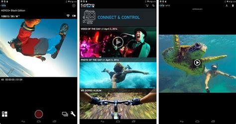 gopro app for android the gopro app for android adds new design automatic wifi connection and more phoneia