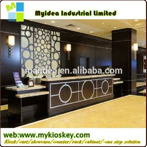 alibaba jakarta office office furniture or hotel reception counter design cheap