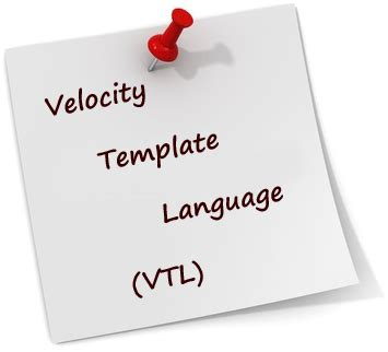 velocity templates velocity template exle how to do a
