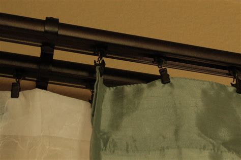 double traverse curtain rod decorative double traverse curtain rod iron blog