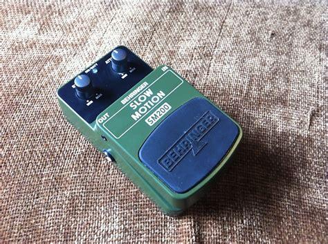 Behringer Sm200 Sm 200 Motion Effect Pedal Efek Stompbox Gitar behringer sm200 motion reverb