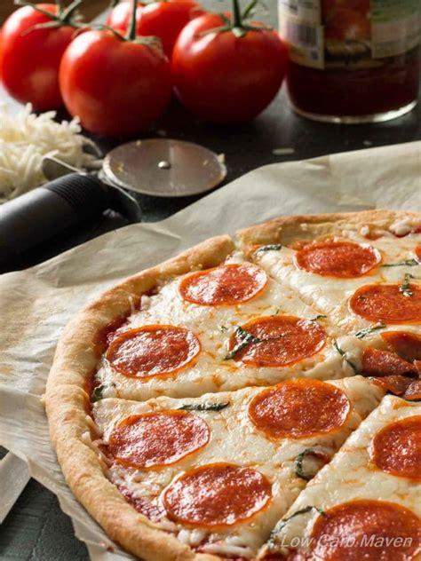 carb pepperoni pizza recipe  fathead crust
