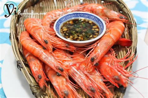 new year prawn dishes cantonese classic white boiled shrimp 白灼蝦 yi reservation