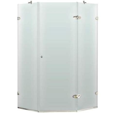 Home Depot Neo Angle Shower by Vigo 40 In X 73 In Frameless Neo Angle Shower Enclosure