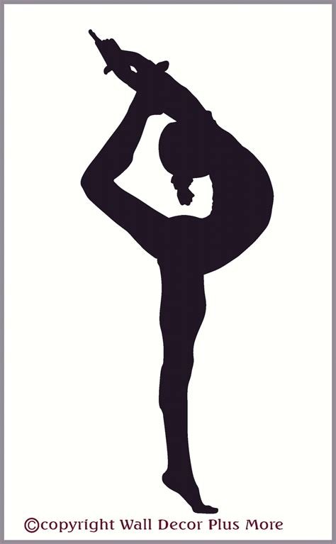 free clipart silhouette gymnast clipart silhouette pencil and in color gymnast