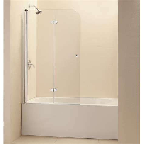 Frameless Hinged Glass Shower Doors Frameless Bathtub Doors Decobizz