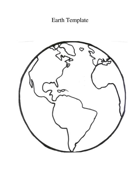 World Template best photos of flat earth template printable flat globe