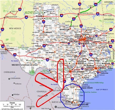 the valley texas map valley texas map