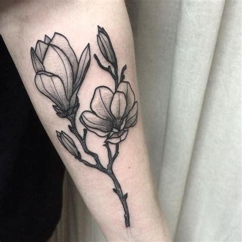 magnolia tattoos magnolia klaudia holda tat