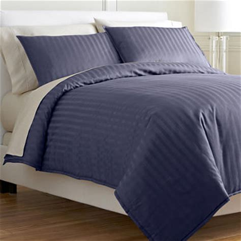 damask stripe comforter set royal velvet 174 damask stripe comforter set jcpenney