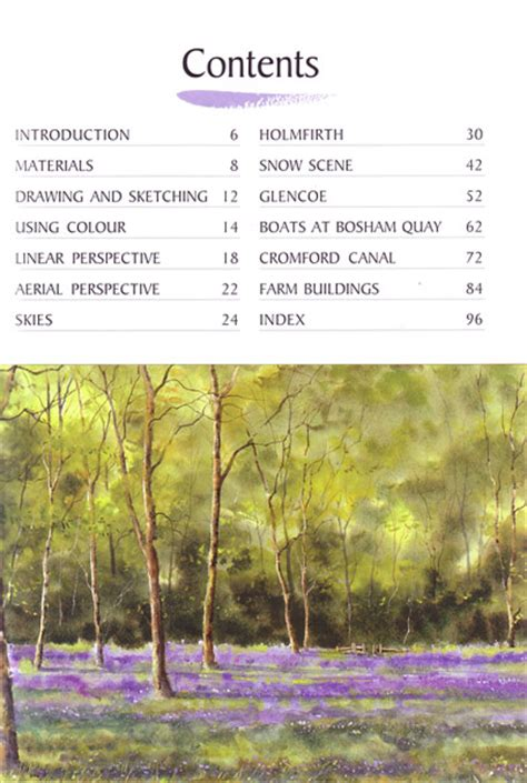 Painting Perspective Depth Distance In Watercolour watercolour tips techniques perspective depth