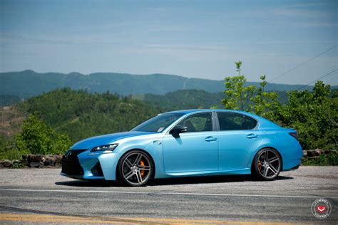 lexus gs300 rims lexus gs f goes aggressive with vossen wheels forcegt com