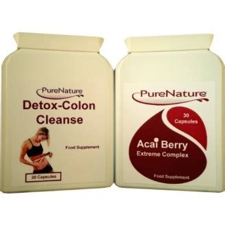 Oh Detox And Cleanse by Acai Berry Complex Burners Weight Loss Diet