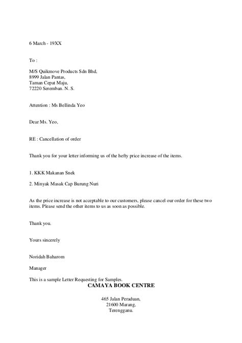 Business Letter Offering Products Styles In Business Letter