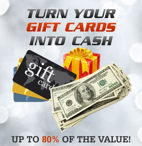 Gift Cards Into Cash - turn your gift cards into cash