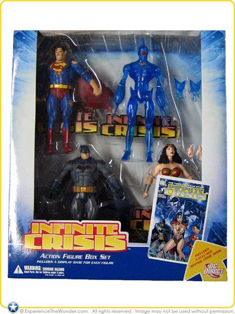 dc direct infinite crisis action figure box set