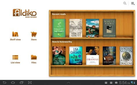 best android ebook reader aldiko 2 1 the best ereader app for android just