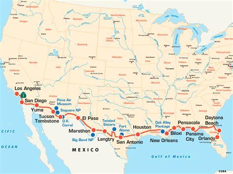 Usa Motorrad Coast To Coast coast to coast usa amerika von k 252 ste zu k 252 ste die