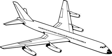Free Vector Graphic Aeroplane Aircraft Airplane Jet The Jet Plane Coloring Pages
