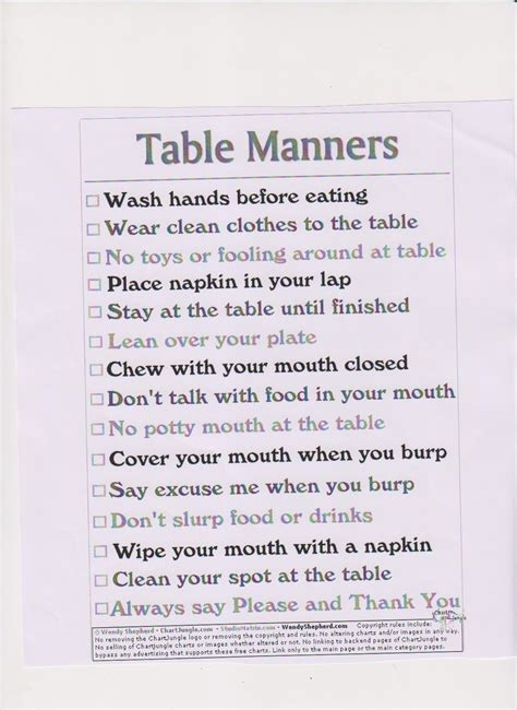 Table Manners And Dining Etiquette 1000 Images About Like On Pinterest Quotes The And Manners