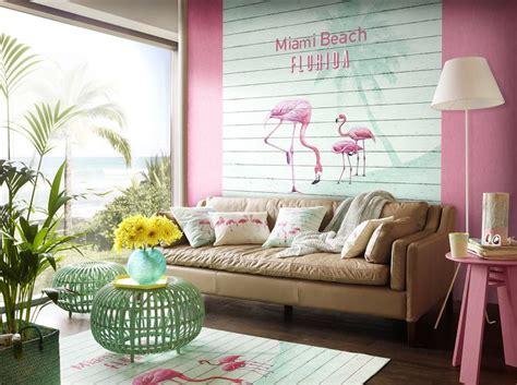 Deco Miami Style Rasch Miami Style Couleurs Tropicales