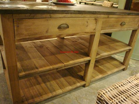 wood top kitchen island reclaimed pine wood kitchen island with blue stone top