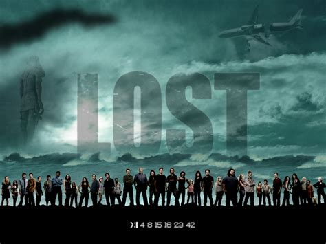 lost season poster all characters lost wallpaper