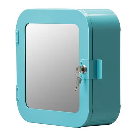 gunnern lockable cabinet blue ikea