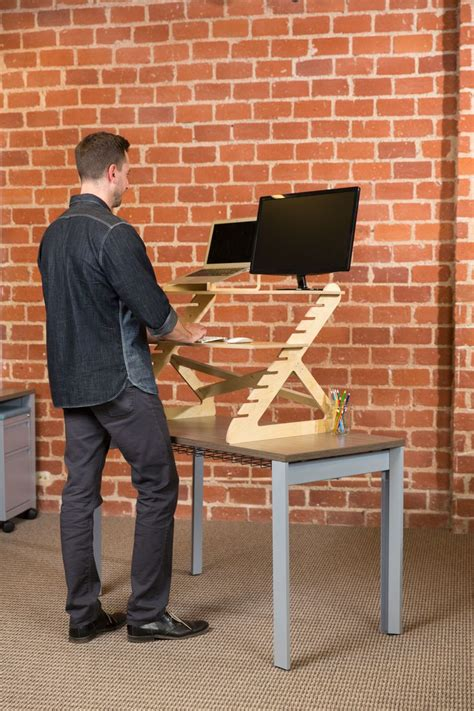stand at your desk readydesk affordable standing desk portable