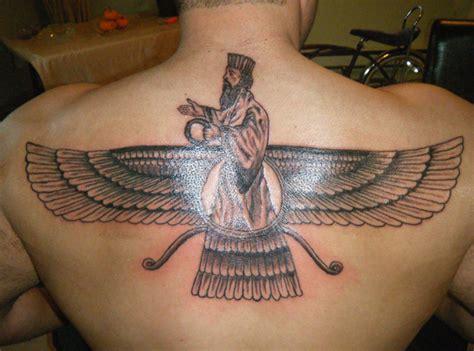 faravahar image zoroastrianism symbols persian tattoo