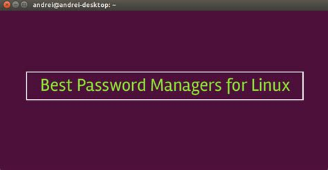 best password manager linux best password manager for windows linux mac android